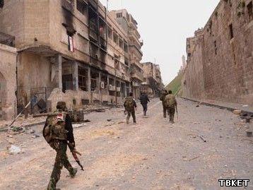 В Алеппо восстановлена телефонная связь и интернет