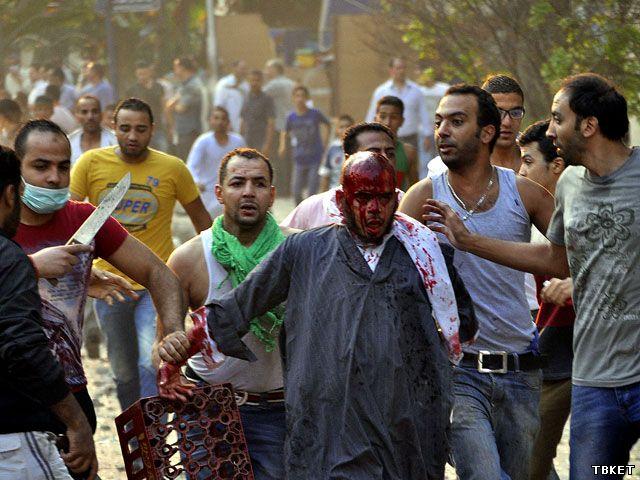 Из-за массовых беспорядков в Египте погибли 34 человека